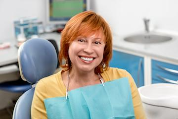 Woman Sitting in Dental Chair | Wisdom Teeth Extractions in Winston-Salem
